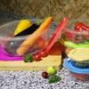 BPA-Free Multi-Color Food Storage Container Set (10-Piece)