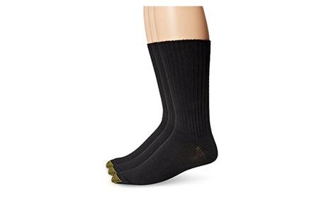 Gold Toe Men's Cotton Flufflies Casual Sock, 3-Pack 383fbbfd-e990-4df3-b9c0-ff0f2ff5c86e