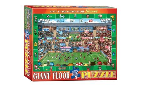 EuroGraphics Puzzles Spot & Find Soccer- Floor Puzzle eab7f9cb-c02f-46ea-bcfa-67e028e05249