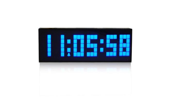 Large Big Number Digital Led Clock/Wall Alarm/Digital Calendar | Groupon