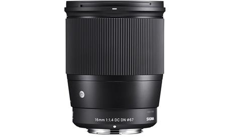 Sigma 16mm f/1.4 Contemporary DC DN Prime Lens for Sony E photo