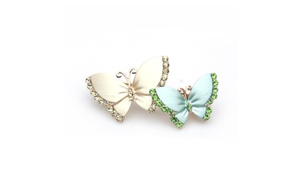 Hair Jewelry -- Butterfly Clip