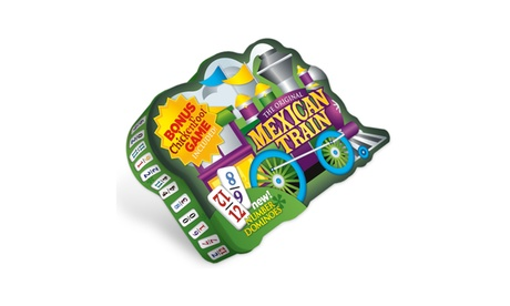 The Original Mexican Train Deluxe Double 12 Number Domino Set with Bonus Chicken 8dbf973d-8a6a-4f6a-af4b-7edd72825056