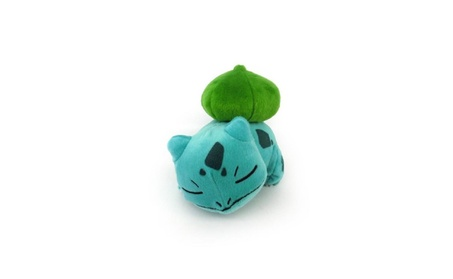 Pokemon Legacy 8 inch Sleeping Plush Figure - Bulbasaur 80e92f17-497a-41bd-8c31-4b2f24aed2fa