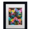Dean Russo '11' Matted Black Framed Art
