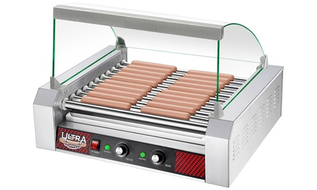 Great Northern Commercial Quality Hot Dog Roller Grilling Machines with Cover 08edd146-2af7-4cce-9b17-e630cd761967