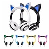 DJ-Style Light-Up Cat Headphones