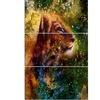 Thoughtful Lion Cub - Animal Metal Wall Art
