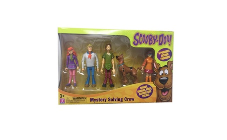 Scooby Doo, Mystery Mates, Mystery Solving Crew, 5-Pack 8781698a-7186-4050-a95b-6e6df3b2379c