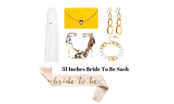 Bachelorette / bridal shower decoration set plus free printable