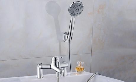 iMounTEK Sink Faucet Mixer Tap with Hand Shower & Sink Faucet Sprayer