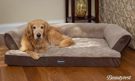 Beautyrest Super Lux Dog Bed Sofa