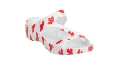 Dawgs Women's Z Sandals - Flag Collection 4565fbfc-c340-42d1-92b6-c2443056b4a3