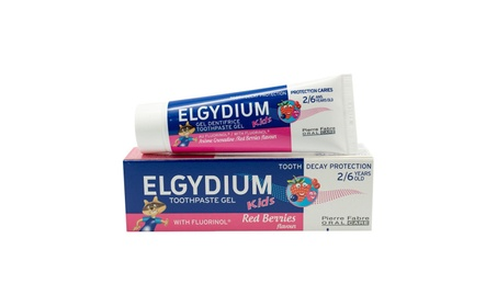 Elgydium Red Berries Toothpaste Gel with Fluoride Kids 50 Ml 3eff4263-4650-4a67-9c36-ab62ffd1f746