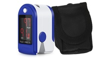 Fingertip Pulse Oximeter Blood Oxygen Saturation Monitor and Heart Beat Monitor