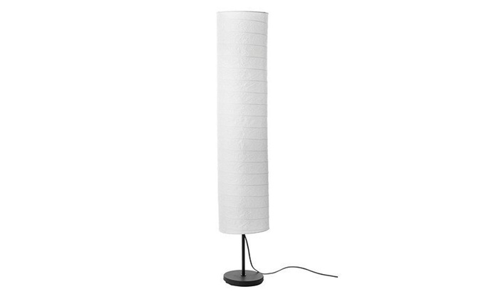 Off On Floor Lamp Rice Paper Shade H