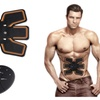 Magic EMS Muscle Training Gear ABS Trainer Fit Body Exercise Shape Set
