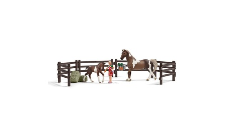 Schleich 21049 Horse Feeding Play Set c16d97f9-bc05-4dad-8bcd-d4801c15be27