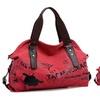 Vintage Graffiti Women's Bag Canvas Handbag Shoulder Bag Ladies Tote