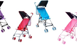 BeBeLove Single Umbrella Stroller with Canopy and Mesh Pocket