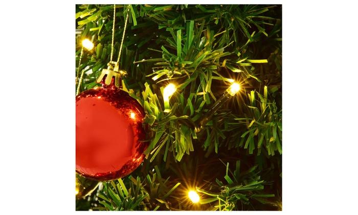 7Ft Pre-Lit Artificial Cactus Christmas Tree W/LED Lights