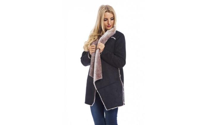 AX Paris Contrast Fur Trim  Jacket