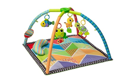 Infantino Pond Pals Twist and Fold Activity Gym and Play Mat 537dba3d-117f-4388-a27f-57342fdb298a