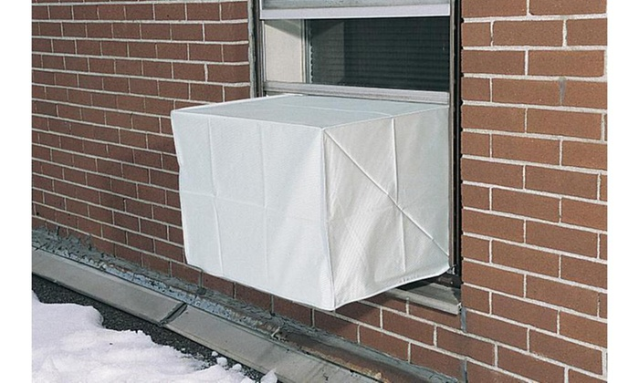 Outdoor Window Unit Air Conditioner Cover