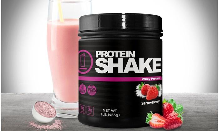 Women S Strawberry Weight Loss Protein Powder Supplement 1