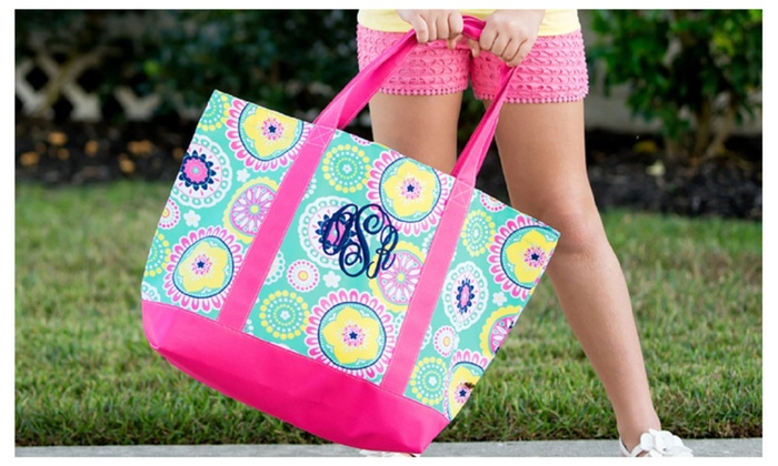 Personalized Piper Tote Bag