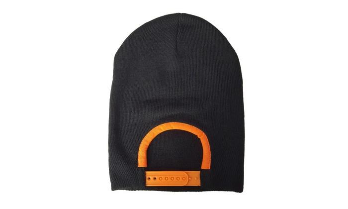 Snap Skull® Snapback Beanie Orange