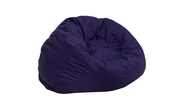 ... Groupon Goods: Oversized Bean Bag Chair ...