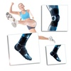 Adjustable Knee and Ankle Support Wrap Brace for Running Jogging