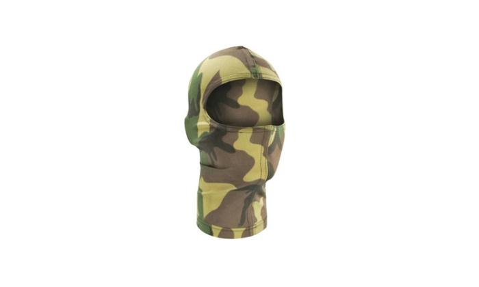Zan Headgear Nylon Balaclava - Woodland Camo - Army