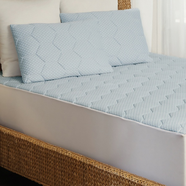 Arctic Sleep Cooling Gel Memory Foam Mattress Pad Groupon