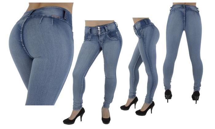 G208 – High Waist, Butt Lift, Levanta Cola, Skinny Jeans