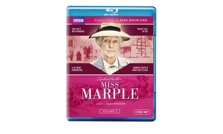 Miss Marple: Volume Two (Blu-ray) 26d9e5bc-ab35-4edc-ae4c-44a716de4063