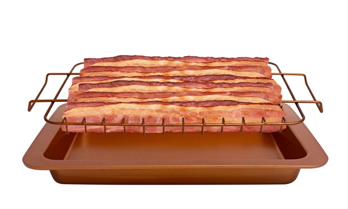 Gotham Steel Bacon Bonanza Pan Groupon