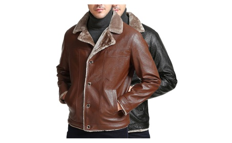Men's Vintage Biker Outdoor Leather Coat 46ba1e29-cae8-406f-9b0a-7826fb7feed8
