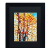 Mandy Budan 'Panoply' Matted Black Framed Art