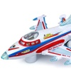 King Air Aviator Battery Operated Kid's Bump and Go Toy Plane