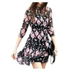 Women's Empire Waist Printed Graphic Casual Dresses