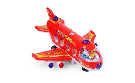 NextX Bump And Go Action 747 Airplane Toys with Lights And Sounds 0456c797-2fc0-4216-bb49-d50a9a37e4b1