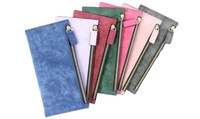 Women Girl Matte Nubuck leather PU Leather Long Wallet Clutch Bag Party Purse (Max Shop) photo