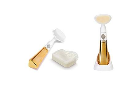 Gold Electric Facial Pore Cleansing Brush a126141b-e4e8-4e0b-a10f-4daee8c3c9bb