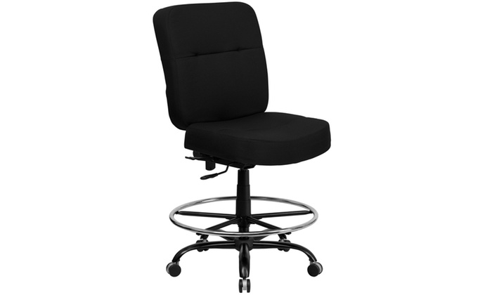 Capacity Big U0026 Tall Drafting Chair With Extra Wide ...