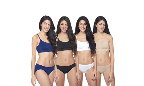 4 pack of women's Modern Fit Bra 7451b149-1faf-4eee-b3a7-8cb5a5d3be1d
