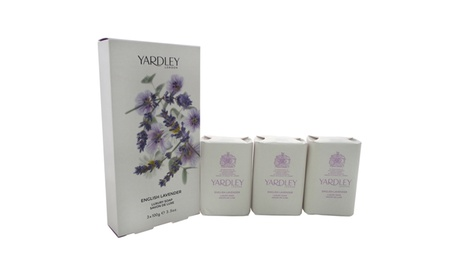 Yardley London English Lavender Luxury Soap 938fac64-642b-498e-8201-9c8f5c75ae07