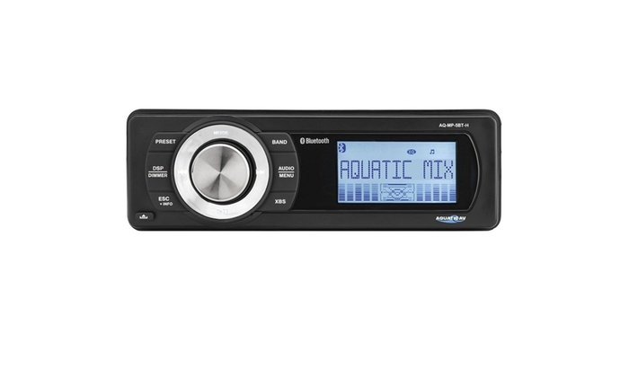 Aquatic AV AQ-MP-5BT-H Factory Harley Davidson Replacement AM/FM Radio
