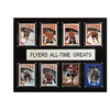 """NHL 12""""x15"""" Philadelphia Flyers All-Time Greats Plaque"""